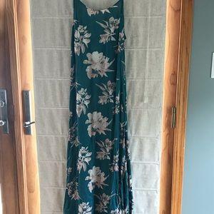 NWT Floor length floral dress